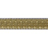 Scroll Gimp Braid Pale Gold