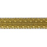Scroll Gimp Braid Old Gold