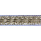 Scroll Gimp Braid Bone