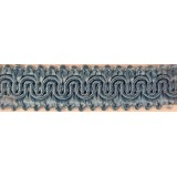 Scroll Gimp Braid  Pale Blue