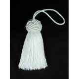 All White Key Tassel 1050