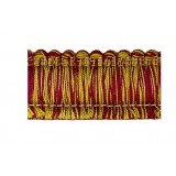 Amazonas Brush Fringe 1110 Burgundy & Gold