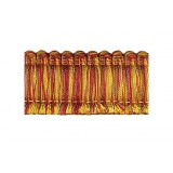Amazonas Brush Fringe 1110 Terracotta & Gold