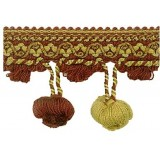 Amazonas Onion Fringe 1827 Burgundy & Gold