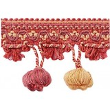 Amazonas Onion Fringe 1827 Terracotta & Gold