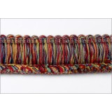 Botticelli Brush Fringe 1110 Garnet