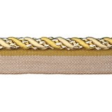 Cavalier Flanged Cord 1009 Gold Cream