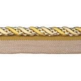 Cavalier Flanged Cord 1009 Gold Cream