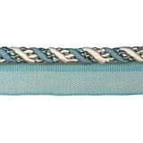 Cavalier Flanged Cord 1009 Teal Oyster