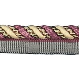 Cavalier Flanged Cord 1011 Aubergine Avocado