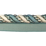 Cavalier Flanged Cord 1011 Teal Oyster