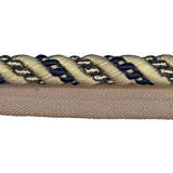 Cavalier Flanged Cord 1011 Black Taupe