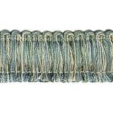 Cavalier Brush Fringe 1110 Teal Oyster