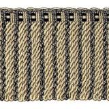 Cavalier Bullion Fringe 1741 Black Taupe