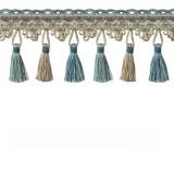 Tassel Trim Turquoise