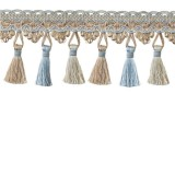 Tassel Trim 100MM - 9 COLOURS