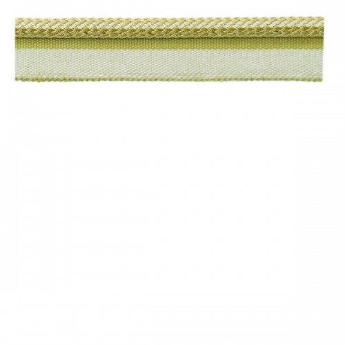 Decorative Piping Cord Lime Green & Taupe