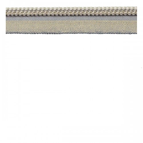 Decorative Piping Cord Grey, Silver & Cream