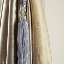 Curtain Tieback - Silver Blue