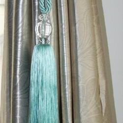 Curtain Tieback - Teal