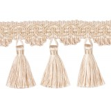 TASSEL FRINGE 70MM - 10 COLOURS