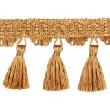 Classic Windsor Tassel Fringe 10304 Old Gold