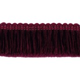 Classic Windsor Cut Fringe 1795 Burgandy
