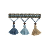 The Cotswolds Tassel Fringe BI100 Sky
