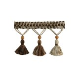 The Cotswolds Tassel Fringe BI100 Quicksilver