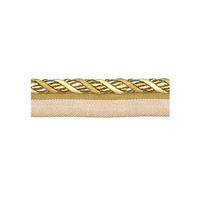 Exquisite Flanged Cord 1008 Gold Storm