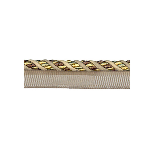 Exquisite Flanged Cord 1008 Mocha Gold