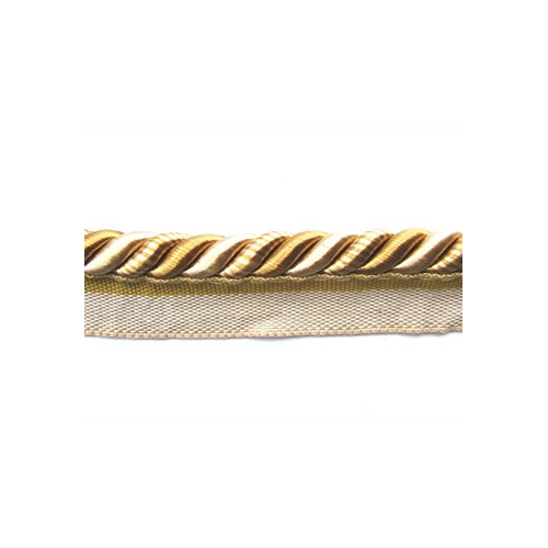 Classic Exquisite Flanged Cord 1030 Gold Storm