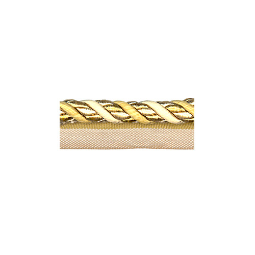 Exquisite Flanged Cord 1034 Gold Storm