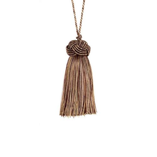 Classic Exquisite Key Tassel 1050-00 Mocha Gold
