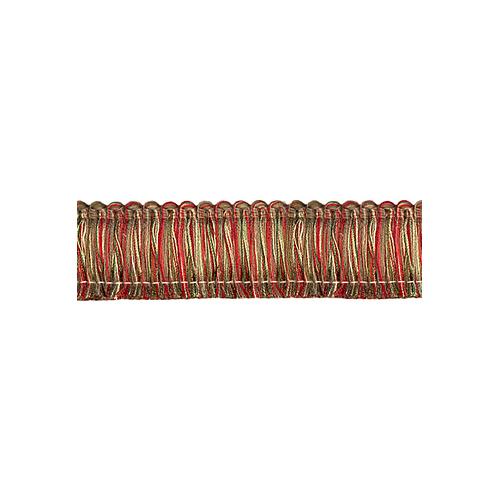 Exquisite Brush Fringe 1111 Red Sherbert