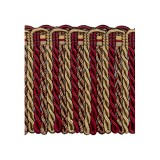 Exquisite Bullion Fringe 1767 Cherrywood
