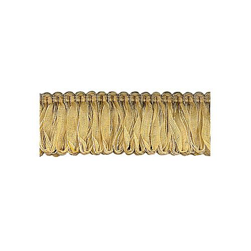 Exquisite Organdy Loop Fringe 1789 Gold Storm