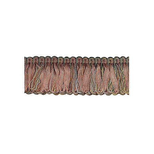 Exquisite Organdy Loop Fringe 1789 Cinnamon Story