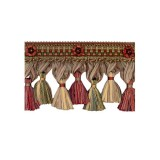 Exquisite Organdy Tassel Fringe 1879 Turkish Delight