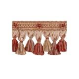 Exquisite Organdy Tassel Fringe 1879 Ginger Megs