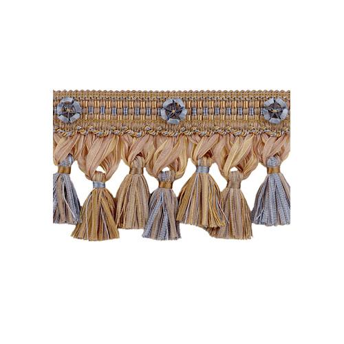 Exquisite Organdy Tassel Fringe 1879 Blue Heaven