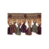 Exquisite Organdy Tassel Fringe 1879 Harlequin