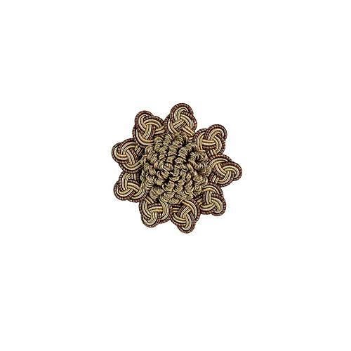 Exquisite Rosette 2687 Mocha Gold