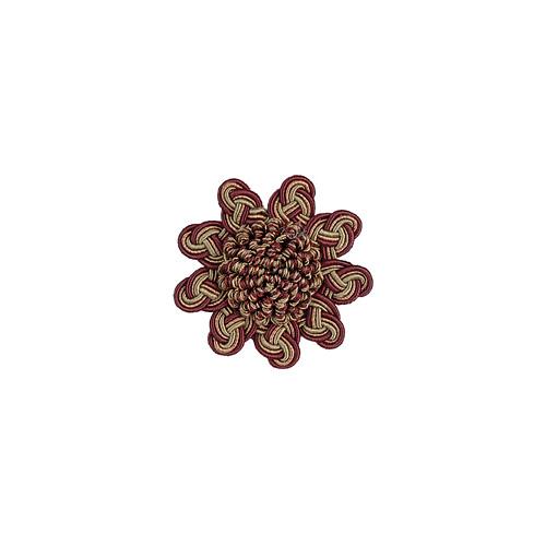 Exquisite Rosette 2687 Mulberry Avocado