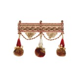 Exquisite Jewel Tassel Fringe 2742 Red Sherbert