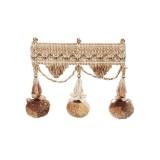 Exquisite Jewel Tassel Fringe 2742 Golden Mist