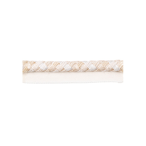 Exquisite Flanged Cord 2814 White Dove