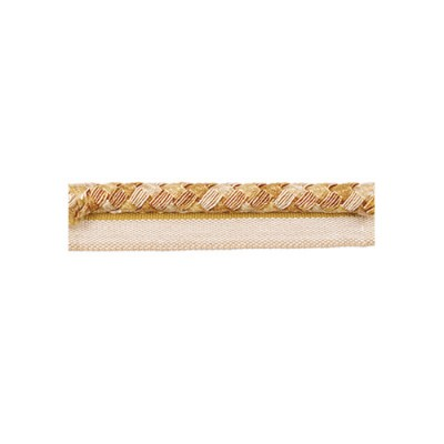 Exquisite Flanged Cord 2814 Gold Storm