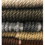 METALLIC CORD 10MM - 6 COLOURS - SAMPLE CUTTINGS AVAILABLE