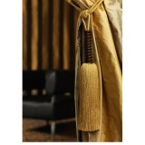 Tassel Tieback with Wooden Barrel